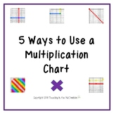 5 Ways to Use a Multiplication Chart