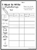 5 Ways to Write Diphthongs Worksheets. 10 pages. Kindergarten-1st Grade ELA.