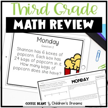 5 Weeks of Common Core Math Review