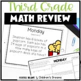 End of Year Math Review Packet for 3rd Grade