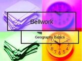 5 Weeks of Geogaphy Bellwork