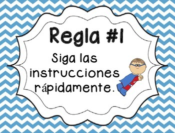5 Whole Brain Rules - Chevron {SPANISH}