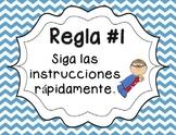 5 Whole Brain Rules - Chevron {SPANISH}
