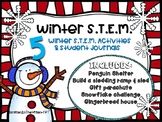 Winter STEM activities and Student Journal