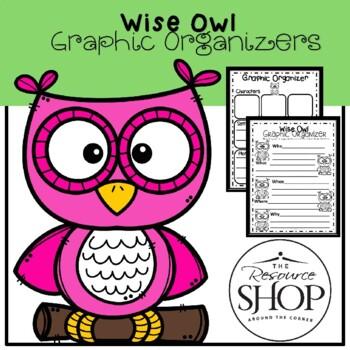 5 Wise Owls Graphic Organizer
