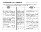 5 World Religions: Timeline, Map, Reading Activity + Compare & Contrast Table