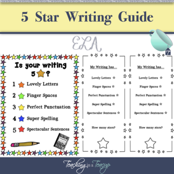 5* Writing Assessment Guide