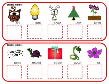 Back to School Writing Centers in English & Spanish