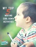Fun Writing Ideas for Early Finishers FREEBIE