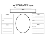 5 W's Biography Report