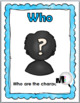 5 Ws Posters, Word Search, Graphic Organizer & Flap Book - 5Ws