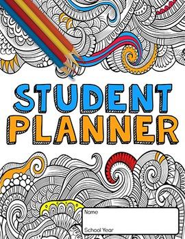 5 YEAR STUDENT PLANNER- MANDALA