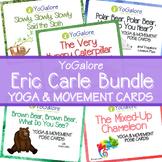 Distance Learning: 5 Yoga & Movement Pose Card Sets BUNDLE