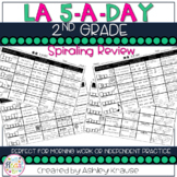 5-a-Day LA: 2nd Grade Weekly Spiraling Review - Great Morning Work