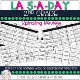 5-a-Day LA: 2nd Grade Spiral Review - 2nd Grade Morning Work 2nd Grade Homework