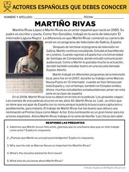 5 actores españoles que debes conocer - biographies in Spanish