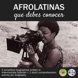 5 afrolatinas que debes conocer - biographies in Spanish