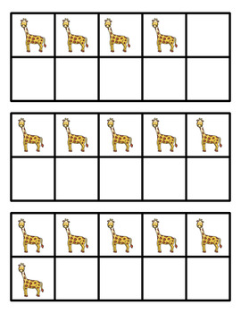 5 and 10 Frames for Kindergarten