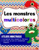 Écriture de Monstre / Lecture guidée / Core French / French immersion