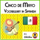 5 (cinco) de mayo - Vocabulary in Spanish - Activity Pack