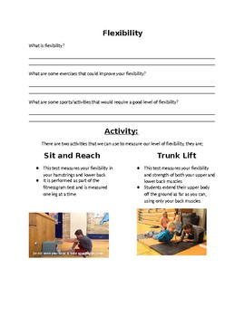5 components of Fitness packet