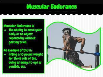 5 Components of Physical Fitness PPT - Editable in MS PPT & Google Slides!