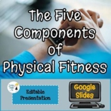 5 Components of Physical Fitness Presentation - Editable in Google Slides