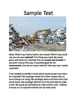 Complex Text Scaffold Template