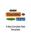 FREEBIE!!!     Complex Text Scaffold Template