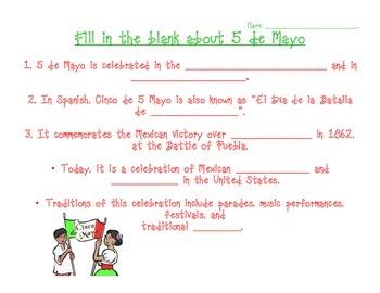 5 de Mayo activities