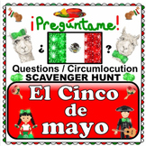 5 de mayo! Cinco de mayo Questions PLUS Month by Month SPANISH Holiday Questions