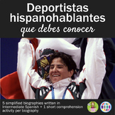 5 deportistas hispanohablantes que debes conocer - biographies in Spanish