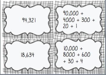 !!!!5 digit expanded numeral SNAP cards!!!!