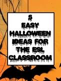 5 easy Halloween ideas for the ESL classroom