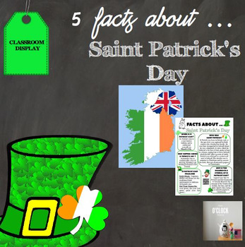 5 facts about Saint Patrick's day
