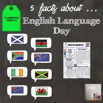 5 facts about English Language Day
