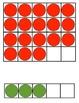 5-frame, 10-frame, and 20-frame flashcards