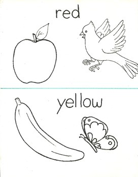 5 fun coloring learning pages