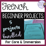 French project bundle for beginners - 5 projects