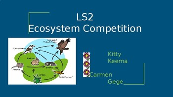 5 grade+ life science class+ ecosystem class