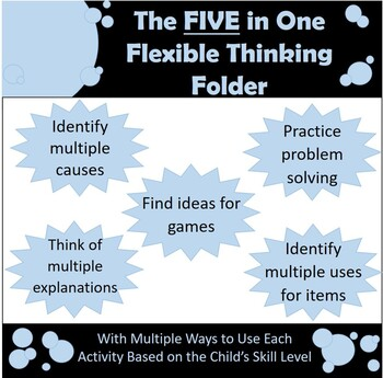5 in 1 Flexible Thinking Folder