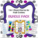 Multiplication Games 3rd Grade Bundle {3.OA.1, 3.OA.7}