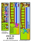 5 in a Bed Math Story Flip Book