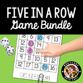 5 in a Row - Game Bundle for Counting On and Counting Back