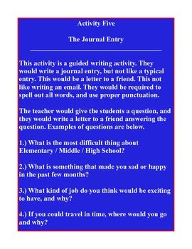 5 minute English Activities