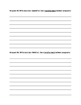 5 paragraph essay: Writing outline