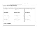 5 paragraph essay planner