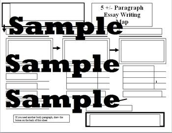 5 plus or minus Essay Map explanation