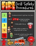 5 point Scale Fire Drill Social Story