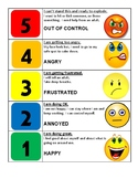 5 point feelings scale